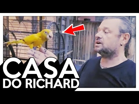 EXPLORANDO A CASA DO RICHARD , CONHECENDO OUTROS ANIMAIS E HISTÓRIAS ! ( Pyong Lee 291 )