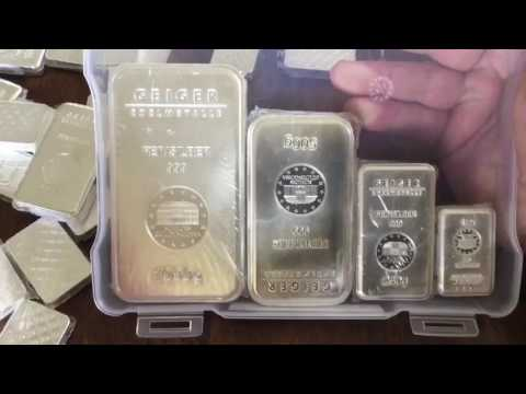 Stacking Silver: Kilo Geiger Bar + 450 other Geiger Grams