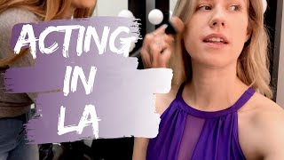 WHAT IT'S REALLY LIKE ON A FILM SET   Actor's Day in the Life   Los Angeles Actor VLOG ON SET