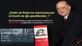 ¿Están de fiesta los mexicanos por el triunfo de @LopezObrador_?