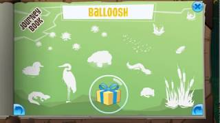 Animal Jam Journey Book: New Land Balloosh!