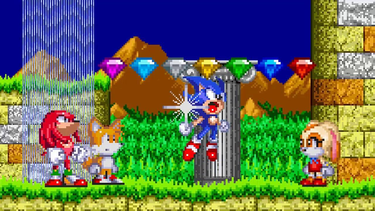 Sonic advance 2 sprites