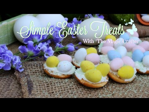 Quick And Easy Easter Dessert | Chocolate Bird Nest Spring Cookie Recipe | Cute & Kid Friendly