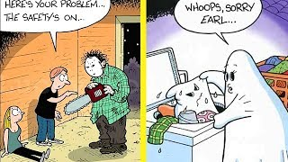 FUNNY Comics That Will Make You LOL (Ghost Cartoons) (Part 2)