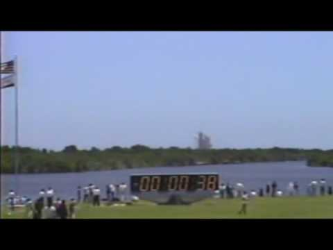 Columbia STS-65 Launch: Charles Atkeison personal Video July 1994