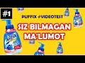PUFFIX REKLAMASIDA ROST GAPIRILGANMI? #VIDEOTEST (PREMIERA) 1 QISM