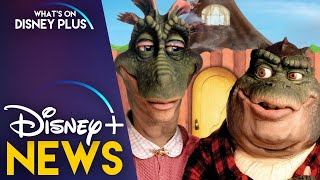 Dinosaurs Coming To Disney This Fall What S On Disney Plus Dinosaurs was the brainchild of puppeteering genius jim henson, who developed the idea in the late 1980s. dinosaurs coming to disney this fall