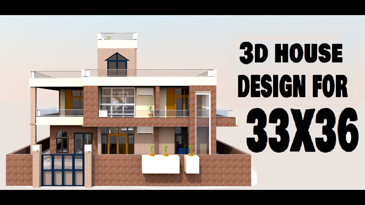 33x36 House Design33x36 क लए घर डजइनvideo By Build Your Dream House