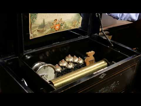 Drums, Bells and Castagnettes Music Box—Otaru Orgel (Music Box Museum)
