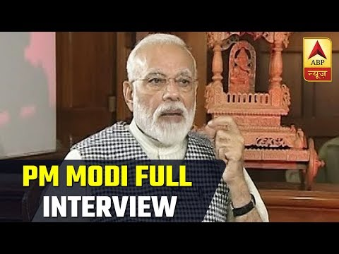 Prime Minister Narendra Modi FULL INTERVIEW On ABP News