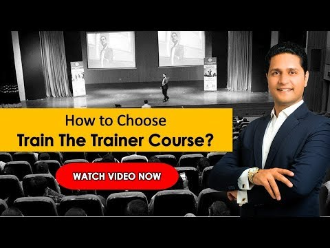 Train The Trainer in Hindi | How to Choose Train the Trainer Course in India | Parikshit Jobanputra