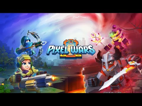 Pixel Wars — MMO Action #13 Gameplay Летсплей (Android,APK) Дальше тащим за Охотника
