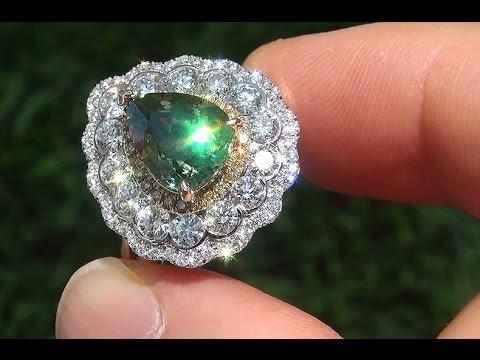 Demantoid Garnet Ring Ebay