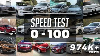 0-100 Speed Test in Pakistan | 0-100 Acceleration | PakWheels