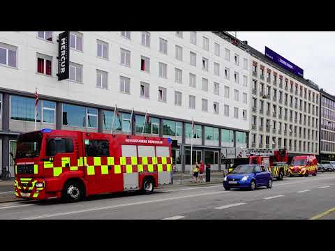 Copenhagen Fire Dept units responding July 2017