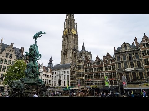 ANTWERP is different; best places to see