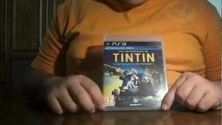 The Adventures Of Tintin The Secret Of The Unicorn (PS3) - Unboxing