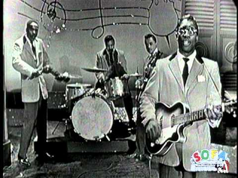"""Bo Diddley """"Bo Diddley"""" on The Ed Sullivan Show"""