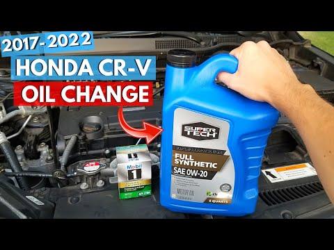 2017-2019 Honda CR-V Oil Change How To -Jonny DIY