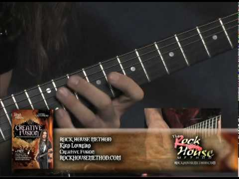 Kiko Loureiro on his Creative Fusion Guitar DVD with Rock House