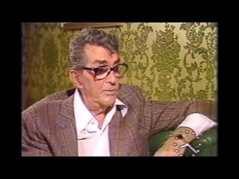 Dean Martin Interview 1987 - Talking about Dean Paul's death