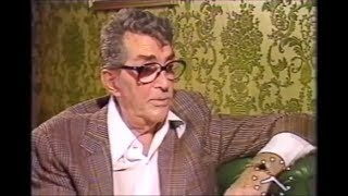 Dean Martin Interview 1987 - Talking about Dino Paul's death