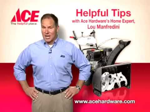 Helpful tips on how to pick a snow blower - Ace Hardware