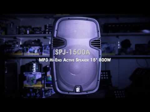 Skytec SPJ-1500ABT MP3 Hi-End BT Active Speaker 15