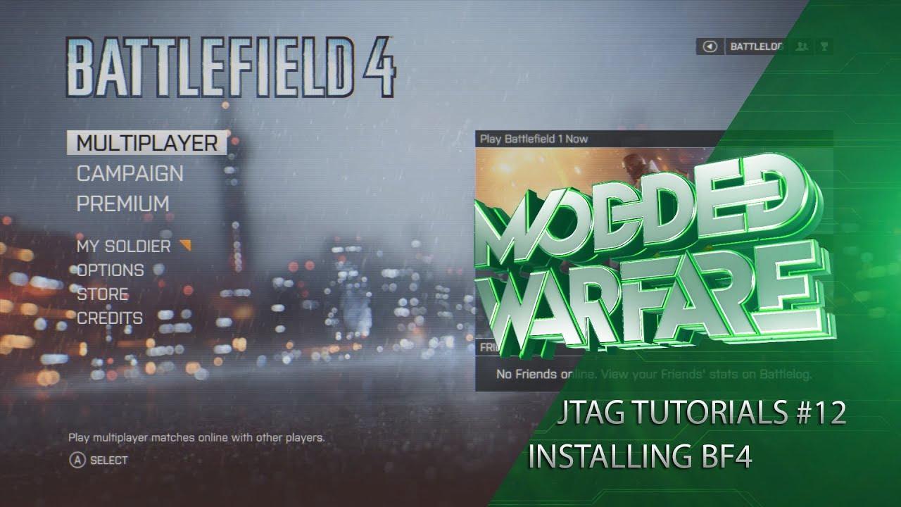 Jtag Rgh Tutorials 12 Installing Battlefield 4 Multiplayer Xbonline Cheats Youtube