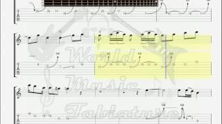 Video Def Leppard   Let It Go solo GUITAR TAB download MP3, 3GP, MP4, WEBM, AVI, FLV Mei 2018