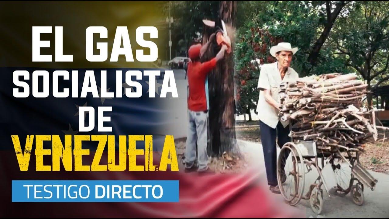 La leña reemplaza el gas que Maduro no puede dar al pueblo - Testigo Directo