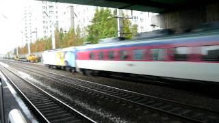 ムグンファ号 新道林駅にて Mugunghwa-ho