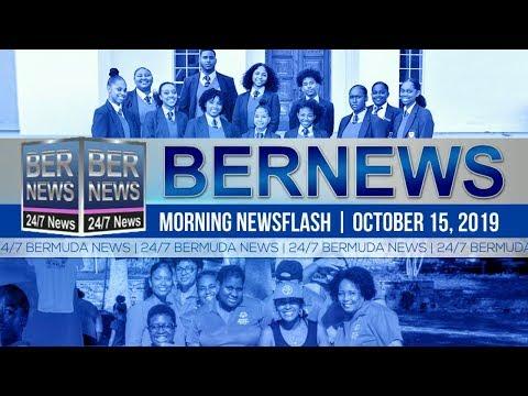 Bermuda Newsflash For Tuesday, October 15, 2019