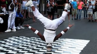 Head Spins + Head Slide - Bourbon Street Breakdancing