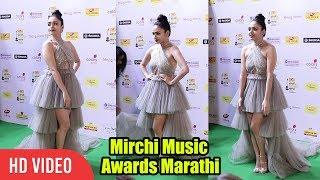 Amruta Khanvilkar At Mirchi Music Marathi Awards 2018 | #mmaMarathi 2018
