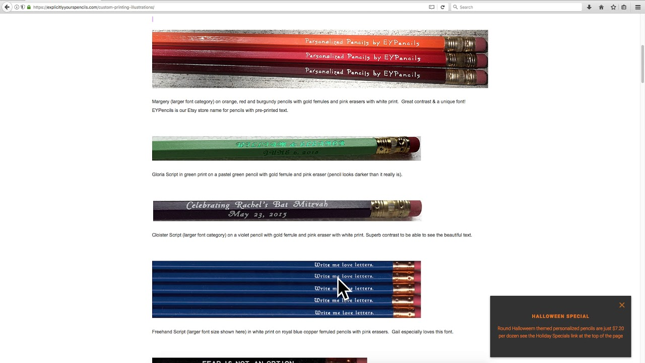 Personalized Pencil Pencil and Print Color Combinations Tips