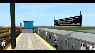 ROBLOX MTA ASTORIA LINE: DRIVING THE N TRAIN AGAIN BUT VIA ASTORIA EXPRESS!! || w/ Kleiner Duvon