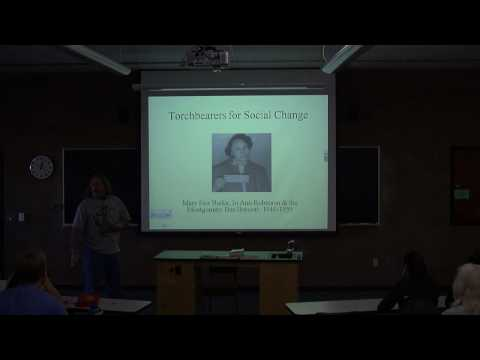 Lunchtime Talks in Science and Mathematics - Dr. Ed Crowther - 1/20/2010