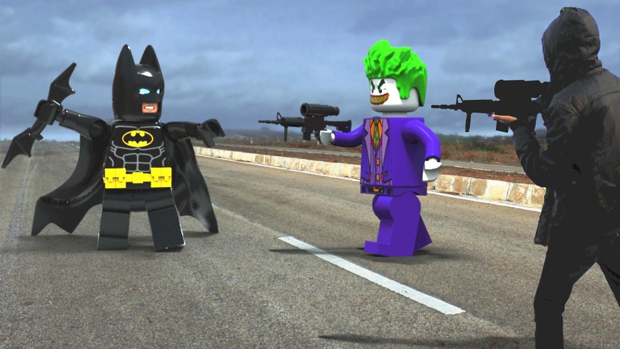 lego batman in real life youtube
