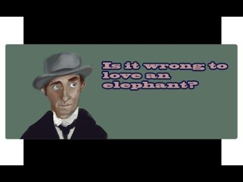 Marty Feldman - Is it wrong to love an Elephant?