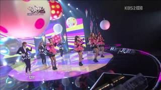 【1080P】T-ara- Sexy Love (28 Sep,2012)