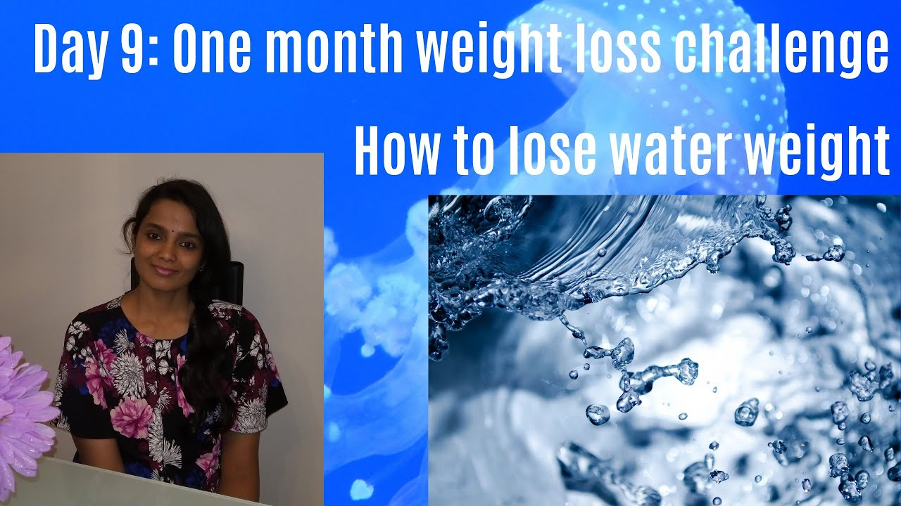 How to lose weight in one day with water