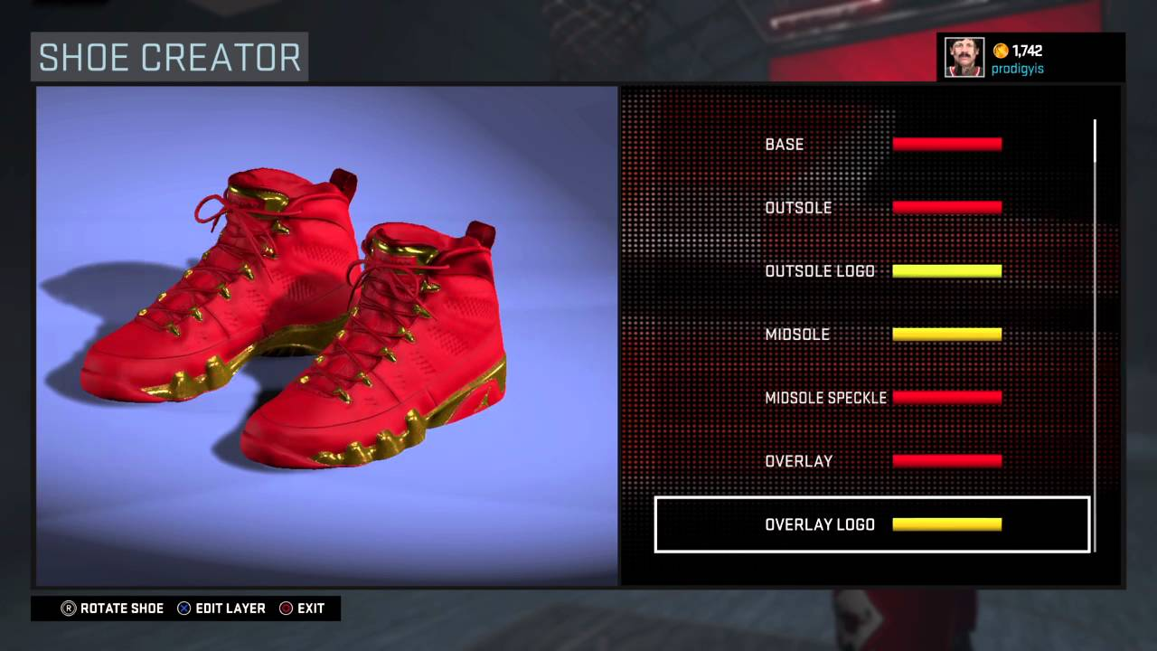 NBA 2K16 best shoe creator