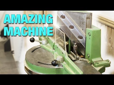 Making Wooden Boxes in 3 Minutes With This Amazing Machine