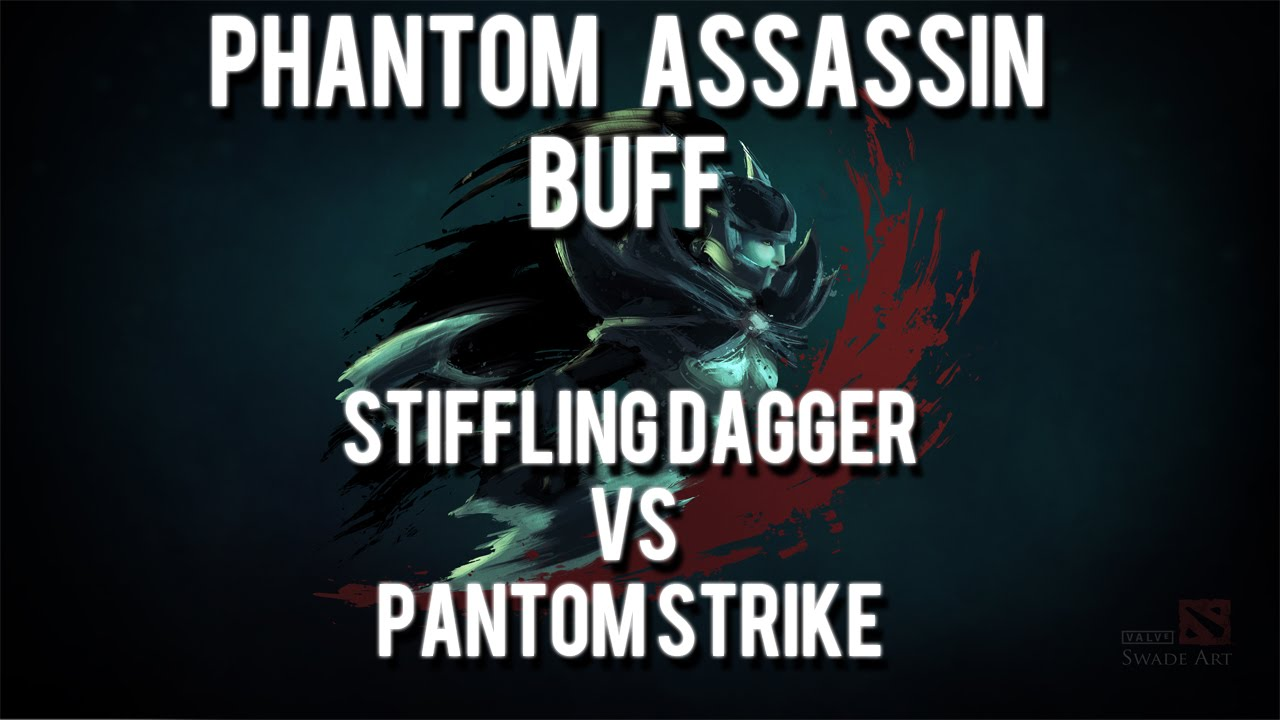 dota 2 buff de phantom assassin stifling dagger contra phantom