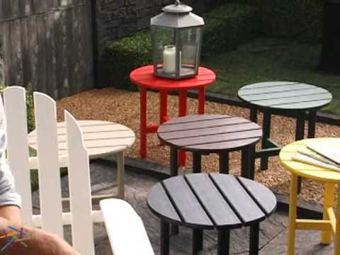 POLYWOOD® Recycled Plastic Classic Adirondack Chair   Product Review Video