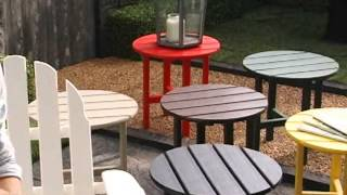Polywood® Recycled Plastic Classic Adirondack Chair - Product Review Video