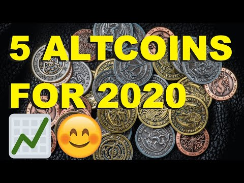 Top 5 Altcoins To Invest In 2020 (MUST WATCH)