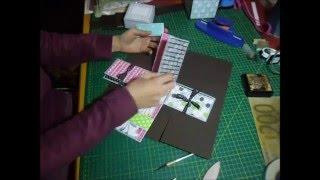 Tutorial ALBUM IN SCATOLA 3: scatola piccola