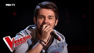 Mihnea Vîlceanu - Whatever it takes | Blind Auditions | The Voice of Romania 2018